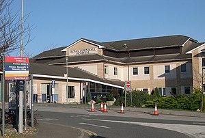 Royal Cornwall Hospital - Image: The Royal Cornwall Hospital, Treliske, Truro geograph.org.uk 89375