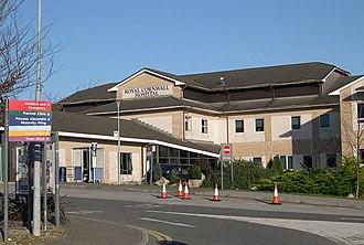 Royal Cornwall Hospital - Entrance to the Royal Cornwall Hospital