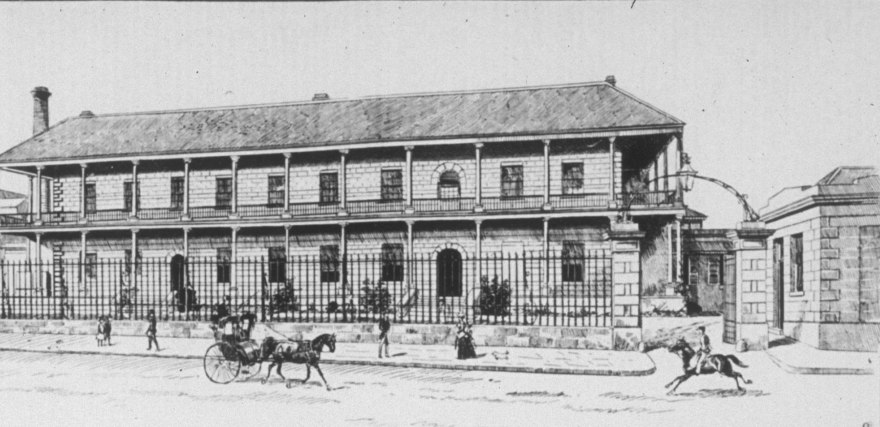 The Royal Mint, Sydney 1888