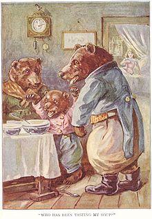 Goldlöckchen Und Die Drei Bären Wikipedia