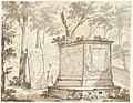 The Tomb of John Maurice of Nassau-Siegen in Cleves by Arnoud van Halen Rijksmuseum Amsterdam RP-T-1953-252(R).jpg