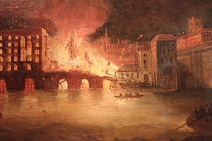 James Braidwood (firefighter) - The Tooley Street fire of 1861 on its first day