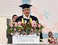 The Vice President, Shri M. Venkaiah Naidu addressing the 1st Convocation of Homeopathy University, in Jaipur, Rajasthan on September 26, 2018.JPG
