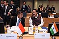 The Vice President, Shri M. Venkaiah Naidu at the First Plenary Session of the 12th Asia-Europe Meeting (ASEM12), in Brussels, Belgium on October 19, 2018. The Vice President of Indonesia, Mr. Jusuf Kalla is also seen.JPG