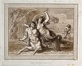 The centaur Nessus carrying off Deianeira. Etching with aqua Wellcome V0048213.jpg