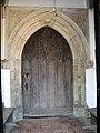 The church of All Saints - C15 north doorway - geograph.org.uk - 1511389.jpg