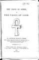 The cross of Osiris, or the cross of life.pdf