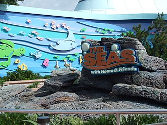 The Seas with Nemo & Friends - Image: The entrance to 'The Seas With Nemo & Friends' at Epcot