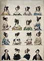 The heads and shoulders of fourteen women and two men; the w Wellcome V0019900.jpg