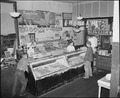 The meat and vegetable and fruit department in the company store. Raven Red Ash Coal Company, No. 2 Mine, Raven... - NARA - 541072.tif