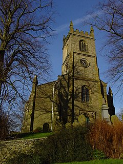 Holy Trinity Church, Rainow Church in Cheshire, England