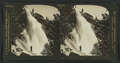 The superb Nevada Fall, 600 ft. slanting descent, Merced Canyon, Yosemite, Cal., U.S.A, by H.C. White Co..png