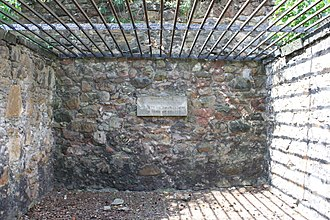 Sir William Scott of Thirlestane - The austere vault of the Scott's of Thirlestane, Greyfriars Kirkyard, built to defend against grave-robbing