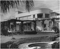 The villa in Casablanca where President Roosevelt stayed during his conferences with Prime Minister Churchill of... - NARA - 196001.tif