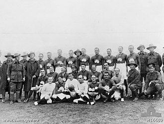 Australian rules football during the World Wars - The Third Australian Divisional Team