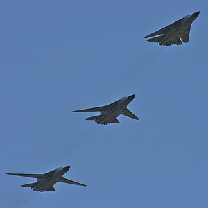 General Dynamics F-111C - Three F-111Cs with their wings in different positions