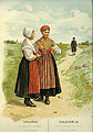 Thulstrup, Nordiska Drägter (1895) pl006 Sommardräkt fr Leksands socken, Dalarna.jpg