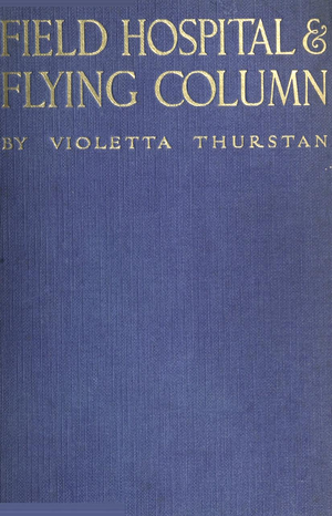 Violetta Thurstan - Cover of her first book, 1915