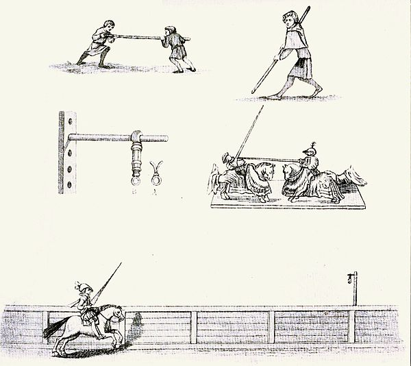 Tilting (From Strutt's 'Sports and Pastimes.').jpg