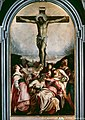 Tintoretto - The Crucifixion, Church of Santa Maria del Rosario (Gesuati).jpg