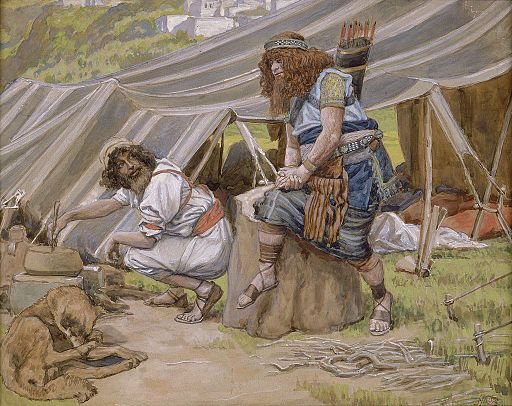 Tissot The Mess of Pottage