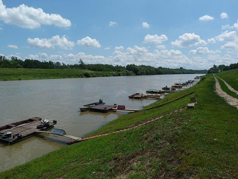 Szolnok Hungary  city photos gallery : Tisza river Szolnok, Hungary 6 Wikimedia Commons