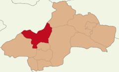 Tokat location Turhal.png