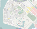 Tokyo Disney Land in OpenStreetMap.png