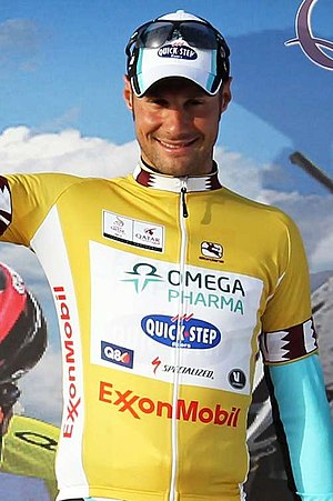 Tour of Qatar - Tom Boonen (pictured at the 2012 Tour of Qatar) holds a record 4 overall wins and 22 stage wins.