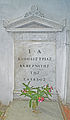 Tomb of Count John Kapodistrias in the monastery Platitera.jpg