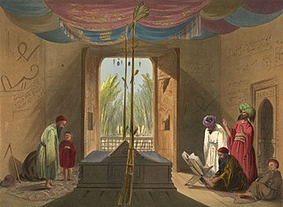 Tomb of Sultan Mahmud of Ghazni in 1839-40.jpg