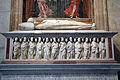 Tomba di arrigo VIII, cassa di tino di camaino, 01.JPG