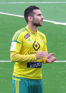 Tomi Petrescu Finnish footballer