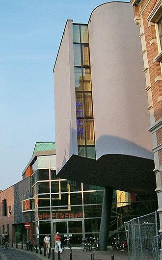 Joost Swarte - Toneelschuur Haarlem (theatre building), designed by Joost Swarte, 1996