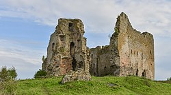 Ruins of the Toolse Order Castle.