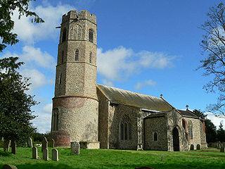 Topcroft village in the United Kingdom