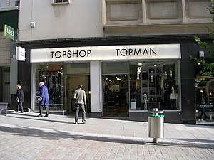 Topman - A combined Topshop and Topman in Bradford.