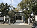 Torii of Sannomiya Shrine near Hatae Station 2.jpg