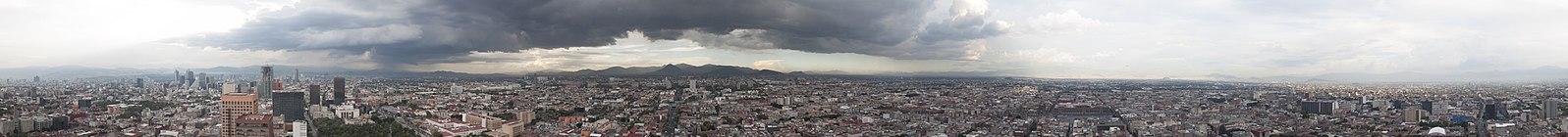 Torre LatinoAmericana Panoramic View