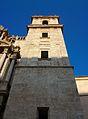 Torre dreta de la façana de sant Miquel dels Reis, València.JPG