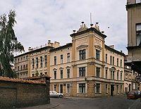 Siedziba założonego w 1875 Towarzystwa Naukowego w Toruniu