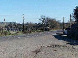 Tooreen ambush - Location road past farm