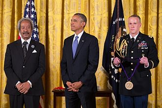 Allen Toussaint - Allen Toussaint receiving the National Medal of Arts in 2013