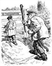 Townsend. World War I (Punch Magazine 1914)