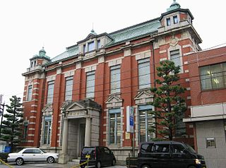 富山銀行の本店