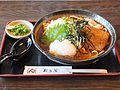 Toyokawa inari udon, at Tamanoya, Toyokawa, Aichi (2013.07.23).jpg