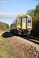 Train heading west to Gillingham - geograph.org.uk - 589593.jpg