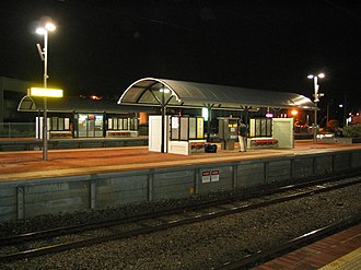 McIver railway station - Image: Transperth Mc Iver Train Station