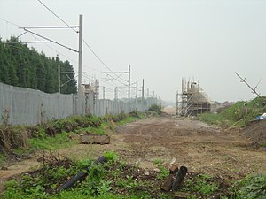 Trent Valley line - Image: Trent Valley works 2006 10 15