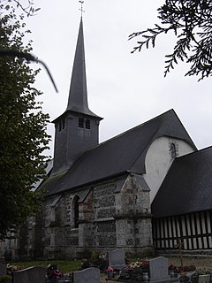 Triqueville Commune in Normandy, France